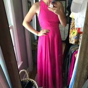 Hot pink ASOS maxi dress!